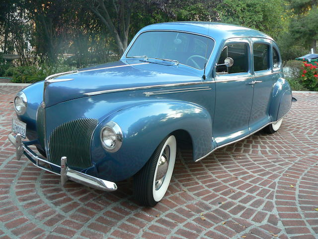 1940 Lincoln Zephr V12  Chassis no. H103343