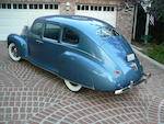 1940 Lincoln Zephyr V-12 Sedan  Chassis no. H103343