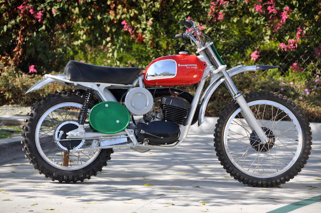 1970 Husqvarna 250 Cross 8-Speed  Chassis no. MH3969 Engine no. 260147-8M