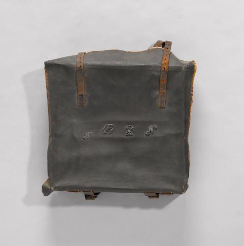 A Federal period militia knapsack