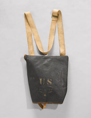 A U.S. military haversack by Watervliet Arsenal