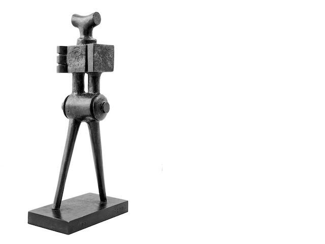 Sorel Etrog (Canadian, born 1933) Walking figure Height: 20.3 cm (8 in).