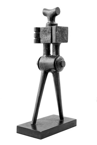 Sorel Etrog (Canadian, born 1933) Walking figure Height: 20.3 cm (8 in).