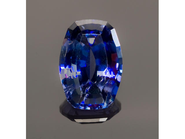 Rare Large Benitoite--An Exceptional California Gemstone