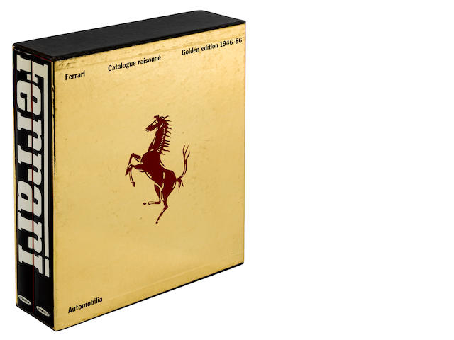 Ferrari-Volumes 1 & 2, Golden Edition 1946-1986, copyright 1982,