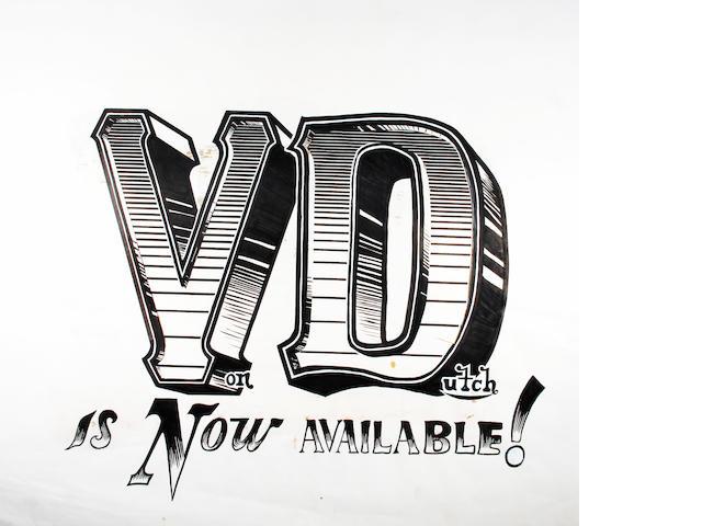 Artwork for VD Business Card,
