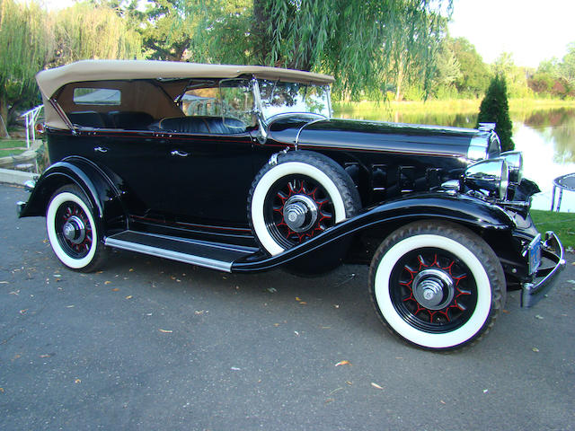 1932 Buick Series 60 5-Passenger Sport Phaeton  Chassis no. 2651740