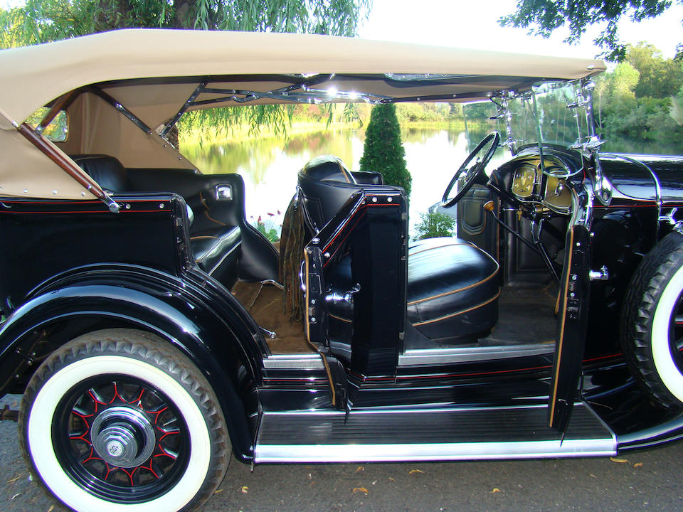 One of 103 built,1932 Buick Series 60 5-Passenger Sport Phaeton  Chassis no. 2651740 Engine no. 2801059