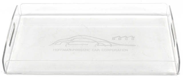 "A Hoffman-Porsche serving tray 11"" by 18"""