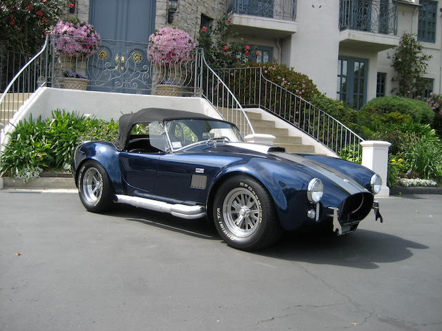 1965 AC Cobra-Licensed by Carroll Shelby Ent Roadster Shelby Cobra 427 SE  Chassis no. SPO 2314 Engine no. SHELBY/FORD FE427