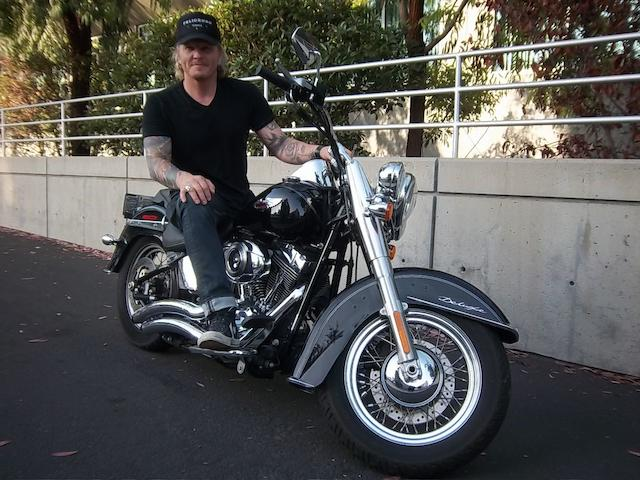 Owned by Matt Sorum of Guns N' Roses and Velvet Revolver,2008 Harley-Davidson Heritage Softail Custom