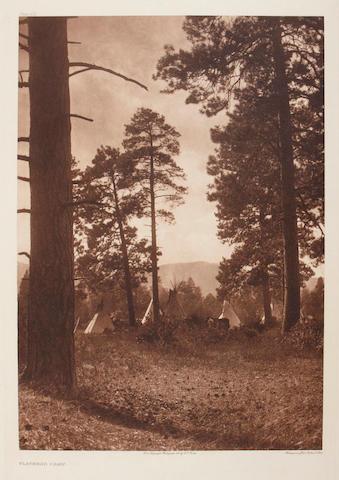 Edward S. Curtis (American, 1868-1952); Flathead Camp;