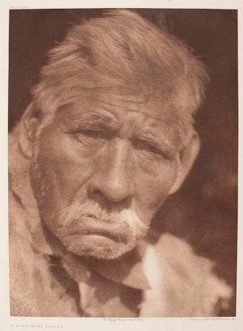 Edward S. Curtis (American, 1868-1952); A Yauelmani Yokuts;