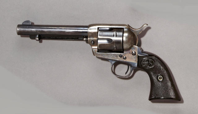 A Colt single action army revolver, sn. 333403