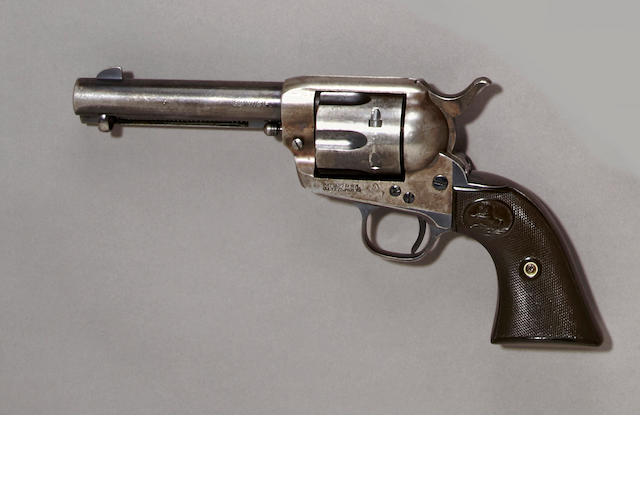 A Colt single action army revolver, sn. 335124