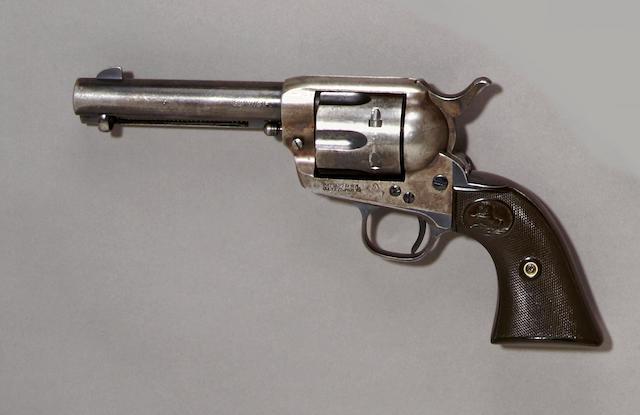 A Colt single action army revolver, sn. 335124