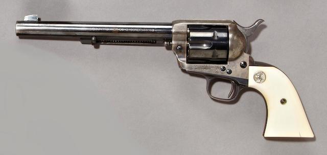 A Colt single action army revolver, sn. 347194