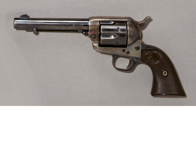 A Colt single action army revolver, sn.351687