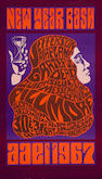 Jefferson Airplane/Grateful Dead/Quicksilver Messenger Service, Fillmore Concert Poster, Wes Wilson, BG-37-OP-1 (Bill Graham, 1966)