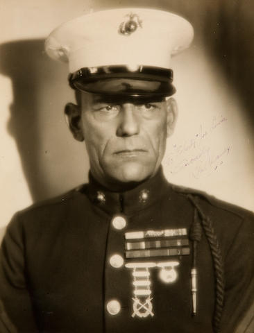 A Signed Photograph By Lon Chaney, Sr., 1926