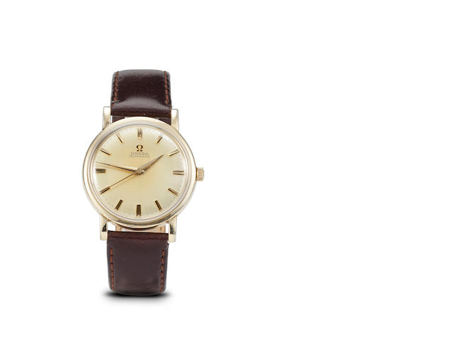 Omega. An automatic wristwatch with center secondsCase no. 1276967, movement no. 20295121, 1960's
