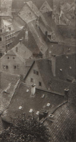 Karl Struss (American, 1886-1981); Over the House Tops, Missen (from Camera Work);
