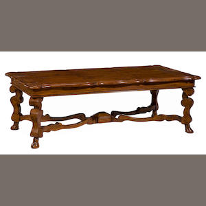 A Continental Baroque style low table