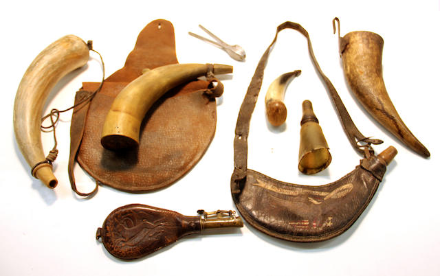 A lot of 18th/19th century firearms accessories