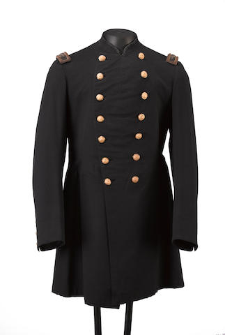 A Civil War era U.S. Army field grade officer's frock coat by Brooks Brothers of New York