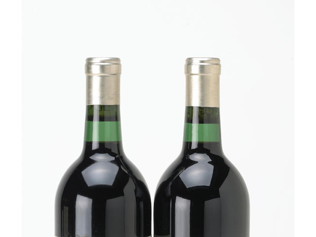 Chateau Lafite Rothschild 1989 (3 half-bottles)<BR>Chateau Léoville-Las-Cases 1989 (8 half-bottles)
