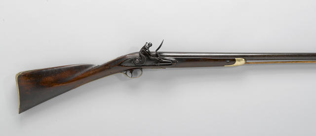 An English flintlock fowling gun by R. Davy