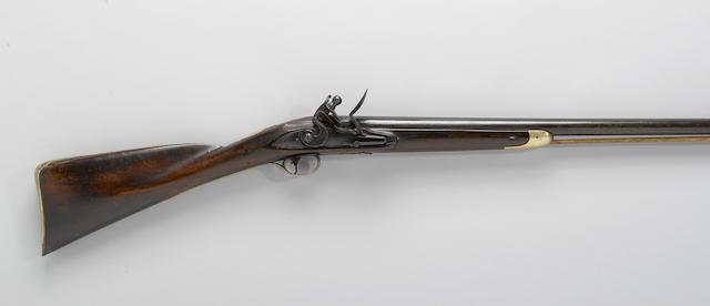 An English flintlock fowling gun by R. Davy