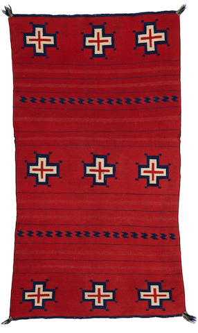 A Navajo classic child's blanket