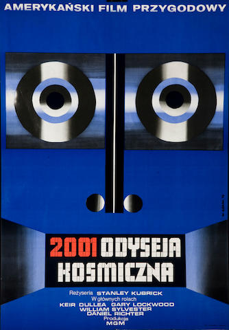 2001: A Space Odyssey (Polish), designed by Wiktor Gorka