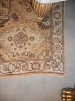 A Tabriz carpet size approximately 7ft. 2in. x 10ft. 6in.