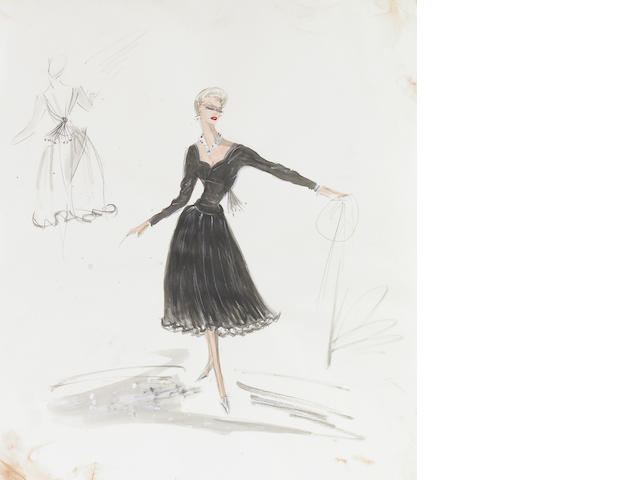 Kim Novak/ Vertigo costume design by Edith Head