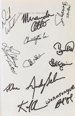 J.R.R. Tolkien's Lord of the Rings, Signed by the Cast