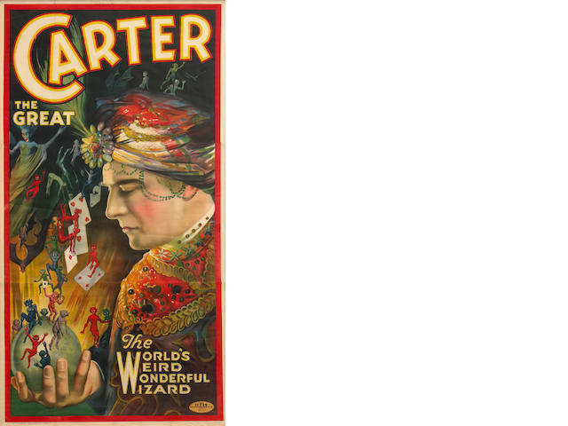 Carter the Great, Weird Wonderful Wizard c. 1935
