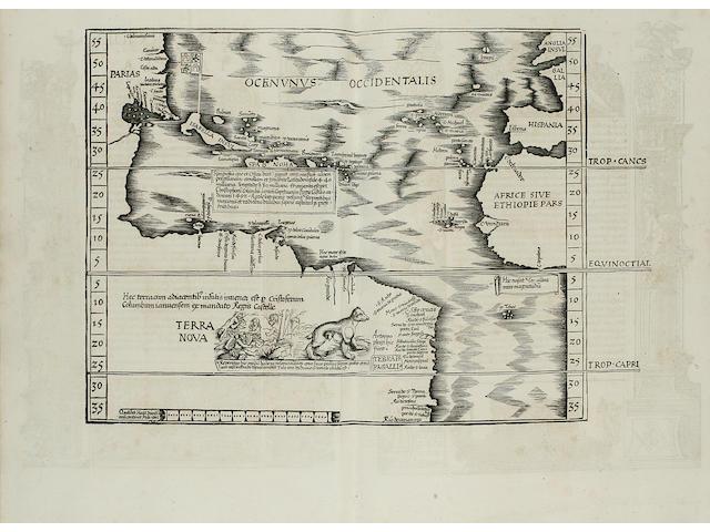 PTOLEMAEUS, CLAUDIUS. Geographicae enarrationis libri octo. Lyons: Melchior & Gaspar Trechsel, 1535.