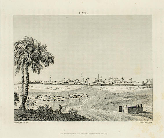 AL-ABASSI, ALI BEY (DOMINGO BADIA Y LEBLICH). 1766-1818. Travels of Ali Bey in Morocco, Tripoli, Cyprus, Egypt, Arabia, Syria, and Turkey, between the Years 1803 and 1807. London: Longman, 1816.