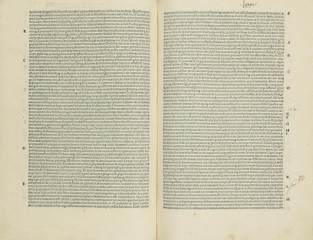 EYB, ALBRECHT VON. 1420-1475. Margarita poetica. Venice: Johannes Rubeus, 1 January, 1493.<BR />