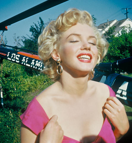 MARILYN MONROE.  A Group of 3-D Negatives, with Copyright, 1952