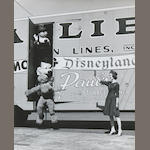 A collection of photographs relating to the Allied Van Lines / Walt Disney Tour, 1962