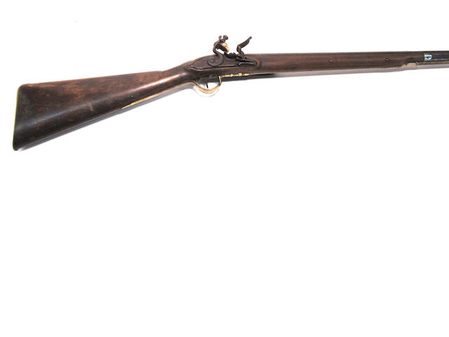An English flintlock fowling gun