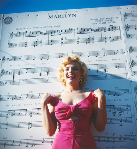 Limited edition printing of Marilyn Monroe photographs by Lani Carlson, 1952 (2011)