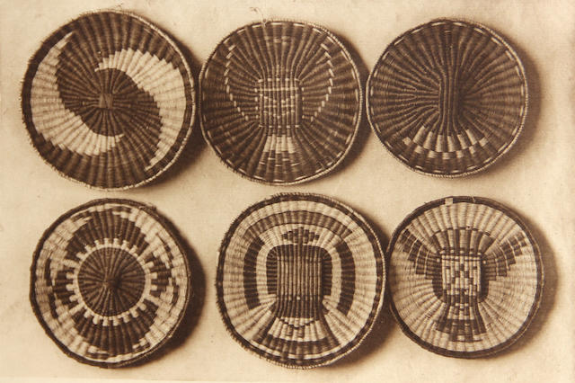 Edward Curtis, Oraibi Plaques (5); (5)