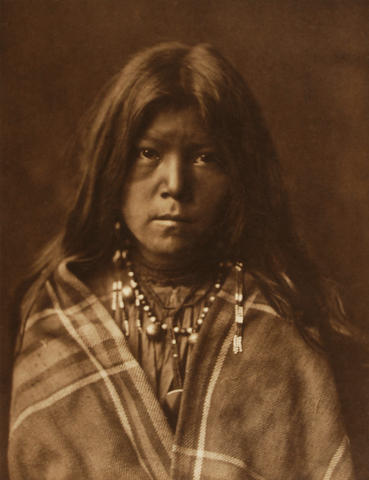 Edward S. Curtis (American, 1868-1952); Alhkidokihi-Navaho; Chideh-Apache; (2)