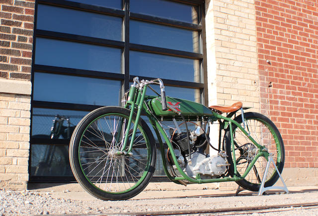 1926 Excelsior 45ci Super X Board Track Racer Recreation Engine No 3628