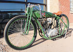 1926 Excelsior 45ci Super X Board Track Racer Recreation Engine no. 3628