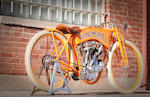 1911 Flying Merkel 61ci Twin Board Track Racer Recreation Engine no. 3258